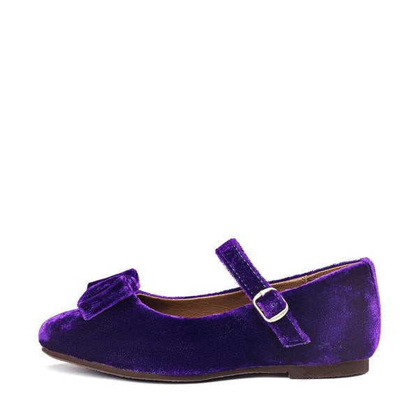 Ellen Velvet Violet Shoes by Age of Innocence