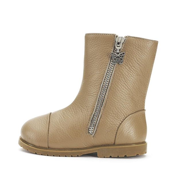 Suzie Beige Boots by Age of Innocence