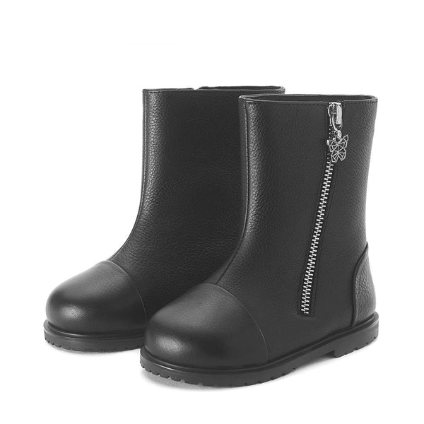 Suzie Black Boots by Age of Innocence