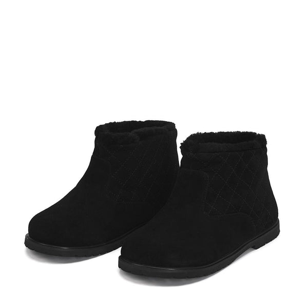 Misha Black Boots by Age of Innocence