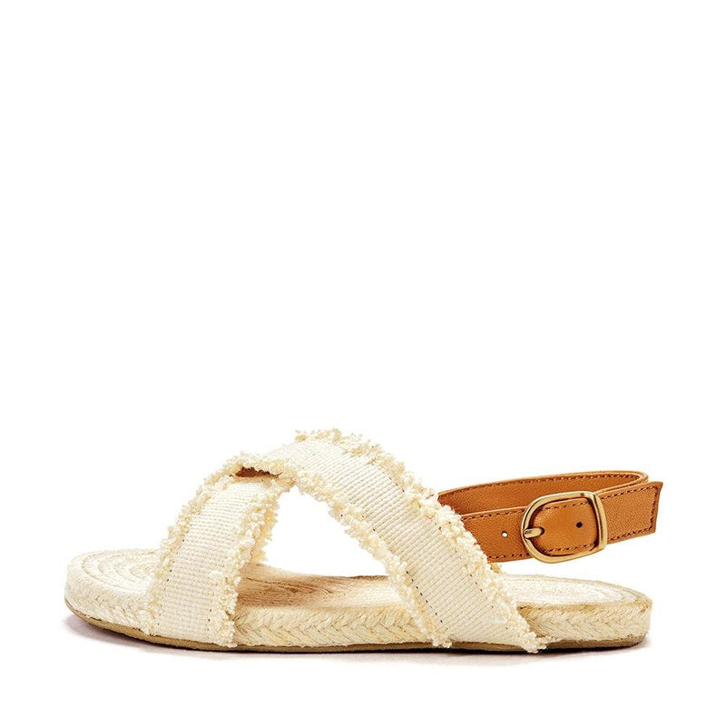Athena Camel Sandals by Age of Innocence