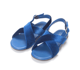 Elisa Navy Sandals by Age of Innocence