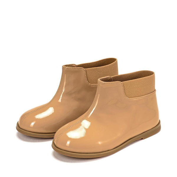 Gaia Beige Boots by Age of Innocence