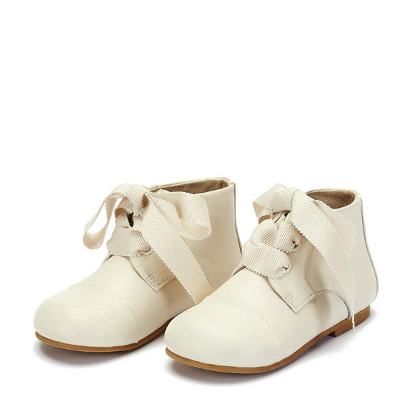 Jane White Boots by Age of Innocence
