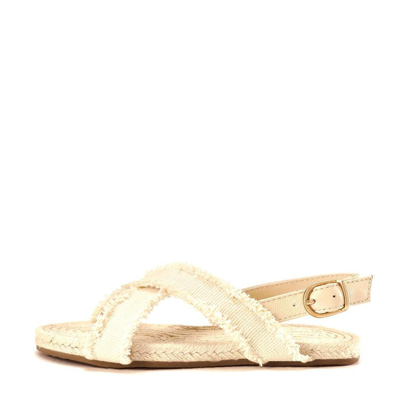 Athena Milk Sandals by Age of Innocence