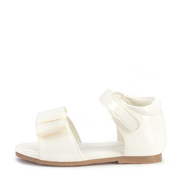 Mary White Sandals by Age of Innocence
