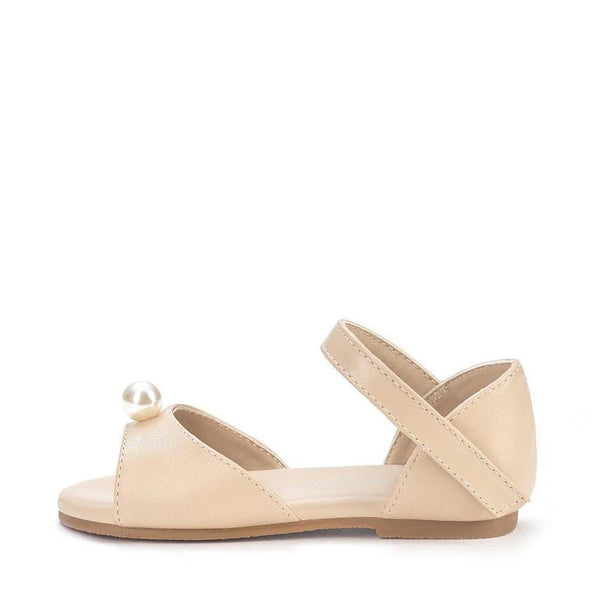 Mila Beige Sandals by Age of Innocence
