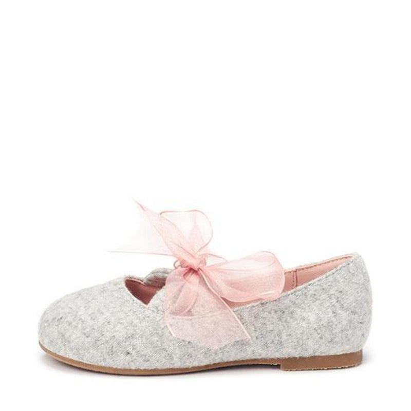 Vicky Organza Grey Shoes by Age of Innocence