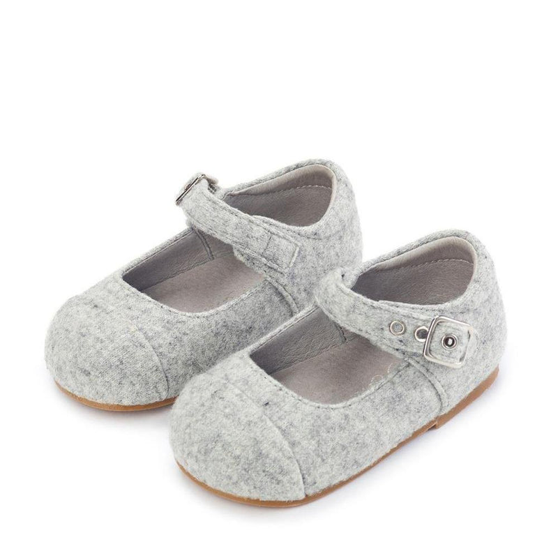 Jenny Wool Grey Shoes by Age of Innocence