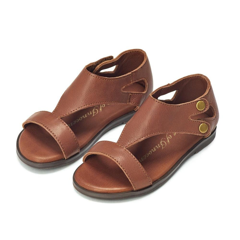Aira Brown Sandals by Age of Innocence