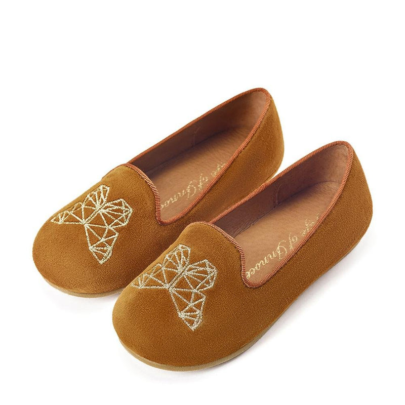 Emma Camel Slippers and Indoor Shoes by Age of Innocence