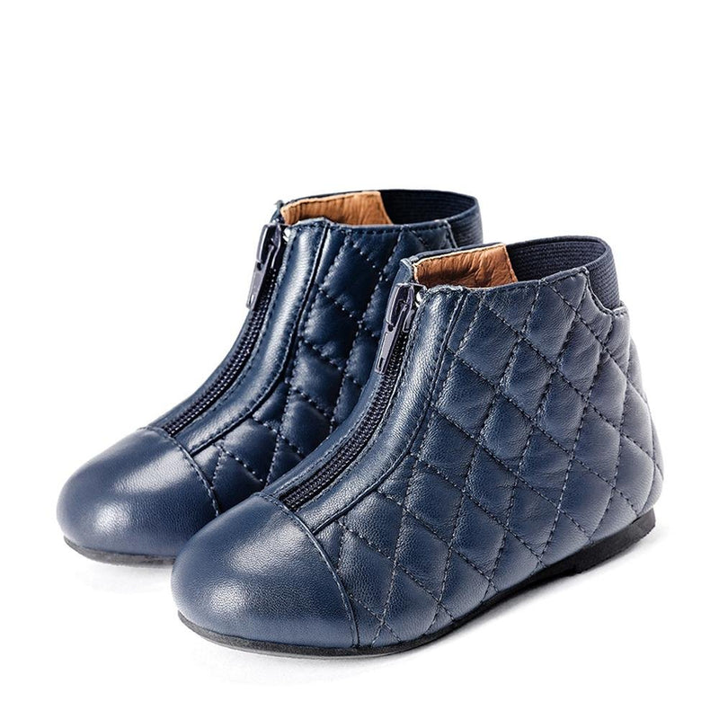 Nicole Navy Boots by Age of Innocence