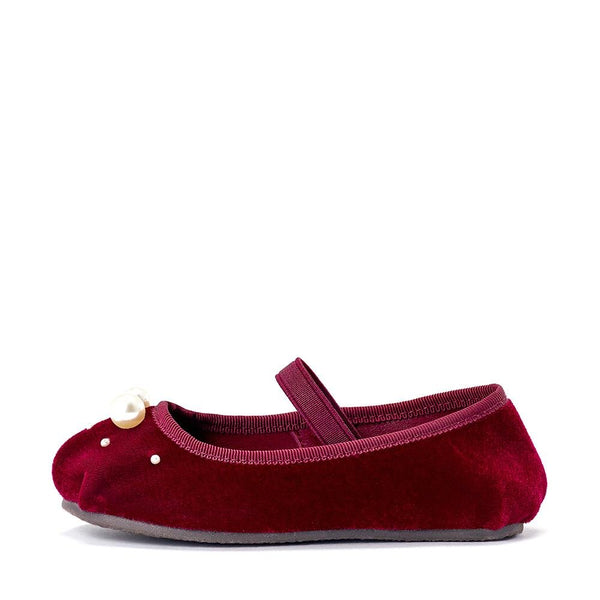 Zelda Burgundy Shoes by Age of Innocence