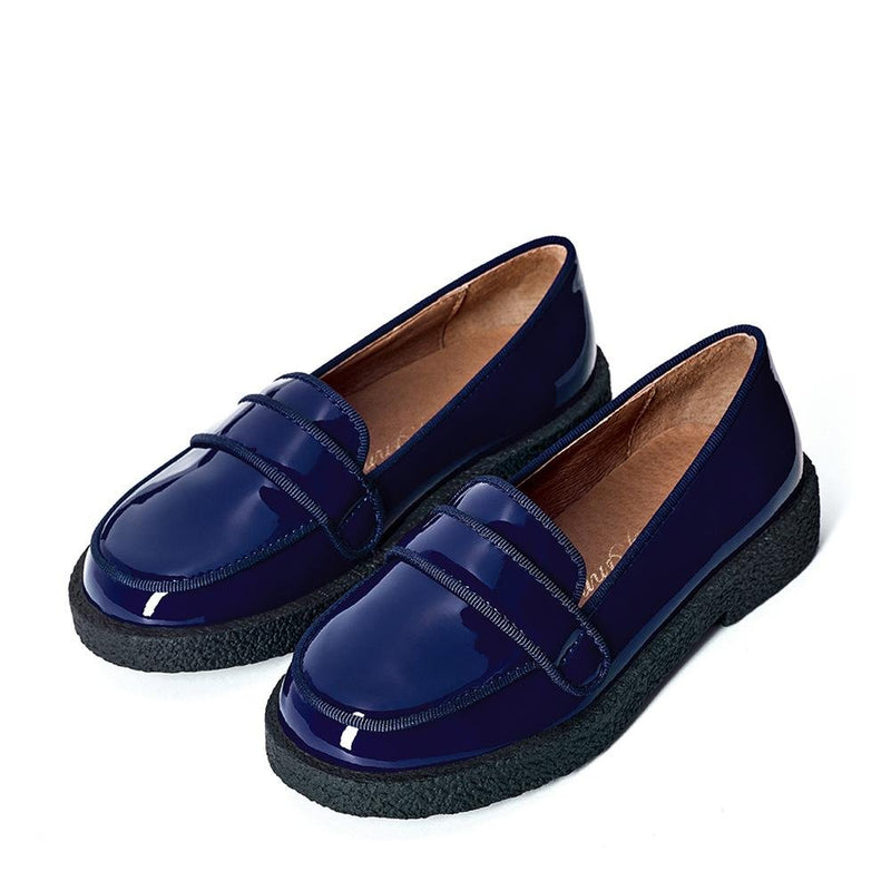 Bobby Navy Shoes by Age of Innocence