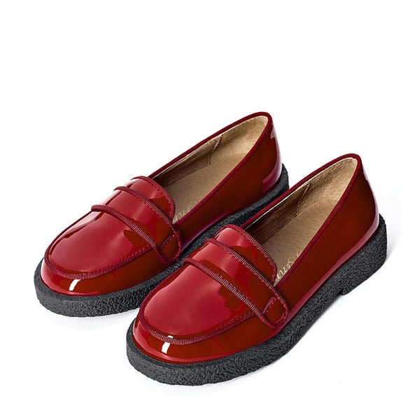 Bobby Burgundy Loafers by Age of Innocence