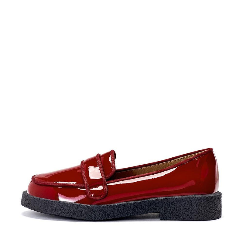 Bobby Burgundy Shoes by Age of Innocence