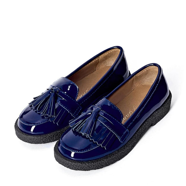 Vita Navy Shoes by Age of Innocence