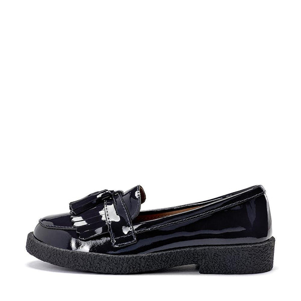 Vita Black Loafers by Age of Innocence