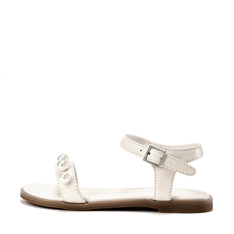 Fleur White Sandals by Age of Innocence