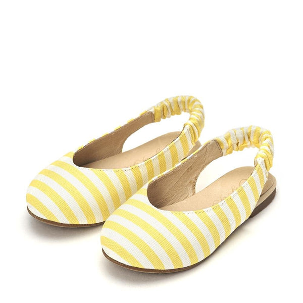 Matilda Canvas Yellow Sandals by Age of Innocence