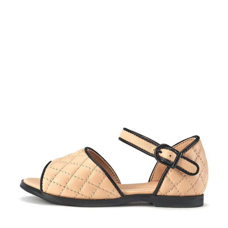 Irene Beige Sandals by Age of Innocence