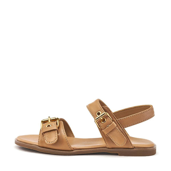 Zara Camel Sandals by Age of Innocence