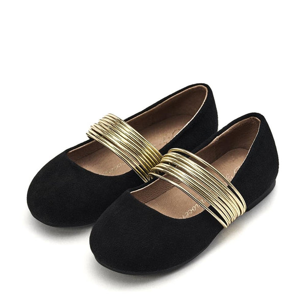 Ines Black Shoes by Age of Innocence