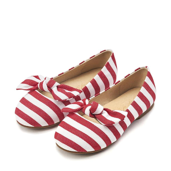 Lucy Red Ballerinas by Age of Innocence