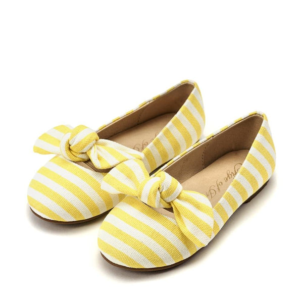 Lucy Yellow Ballerinas by Age of Innocence