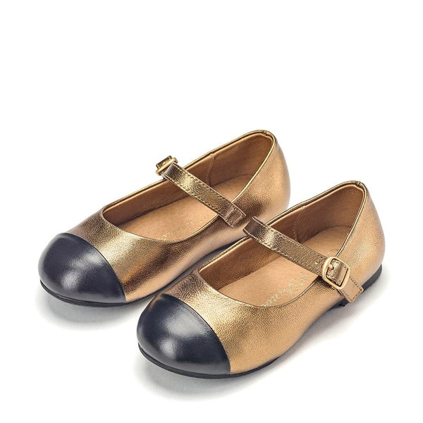 Alexa Bronze Shoes by Age of Innocence