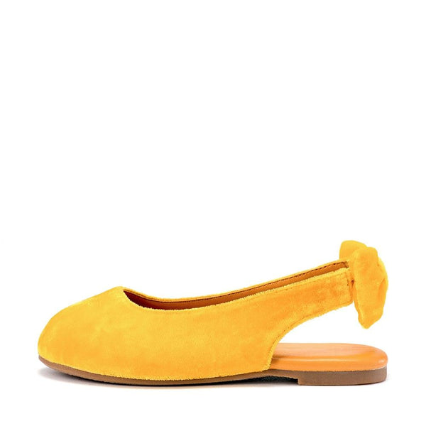Amelie Yellow Sandals by Age of Innocence