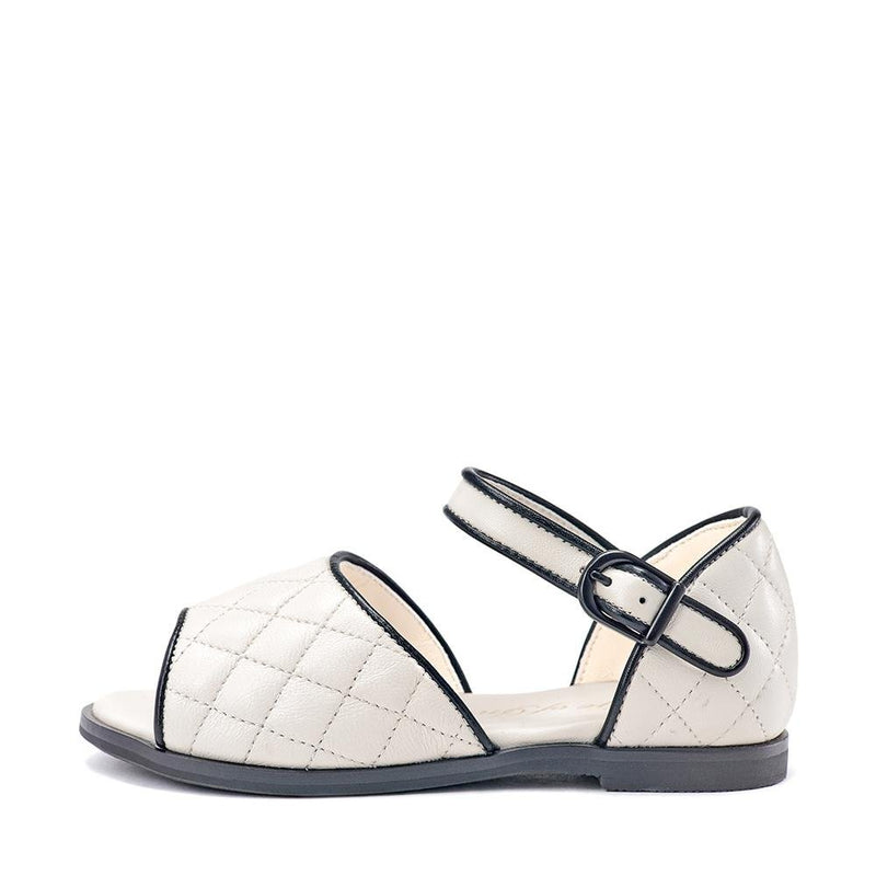 Irene White Sandals by Age of Innocence