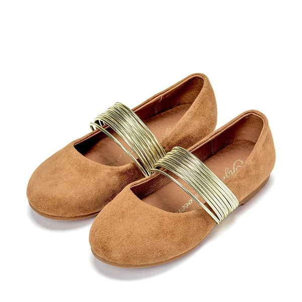 Ines Camel Shoes by Age of Innocence