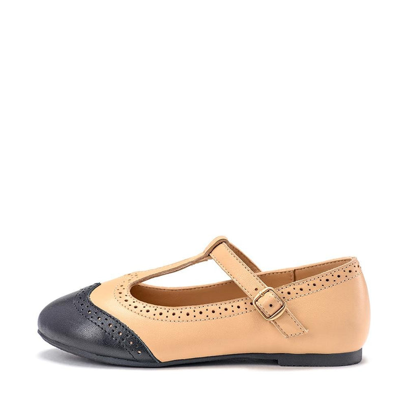 Kathryn Beige Shoes by Age of Innocence