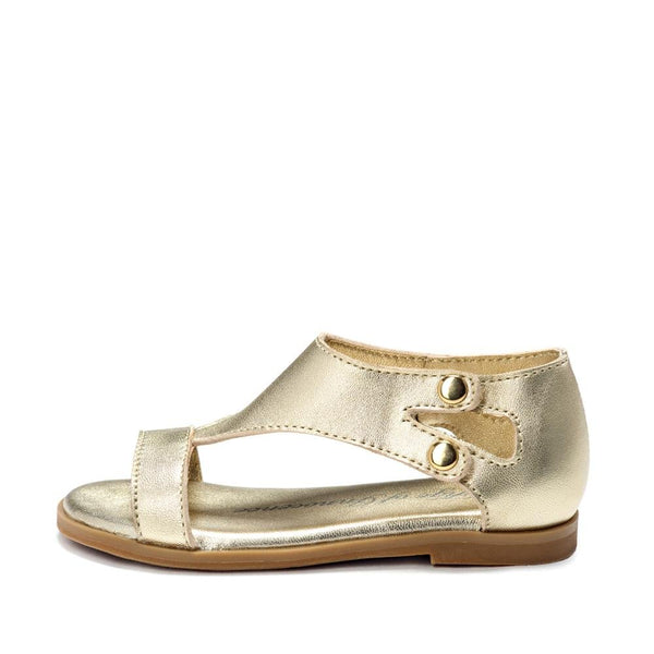 Aira Gold Sandals by Age of Innocence