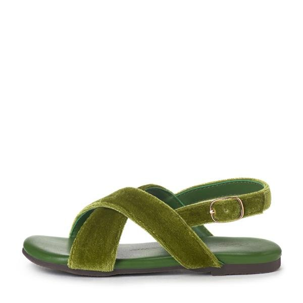 Elisa Green Sandals by Age of Innocence
