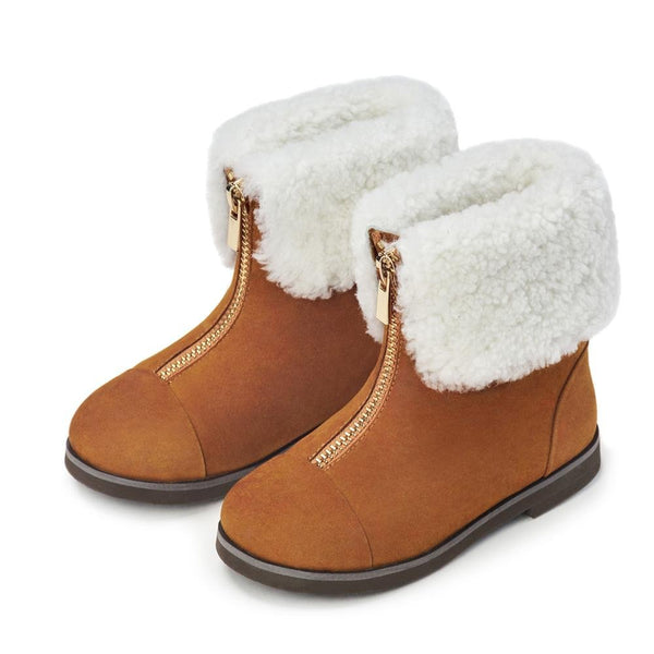 Ivy Camel Boots by Age of Innocence