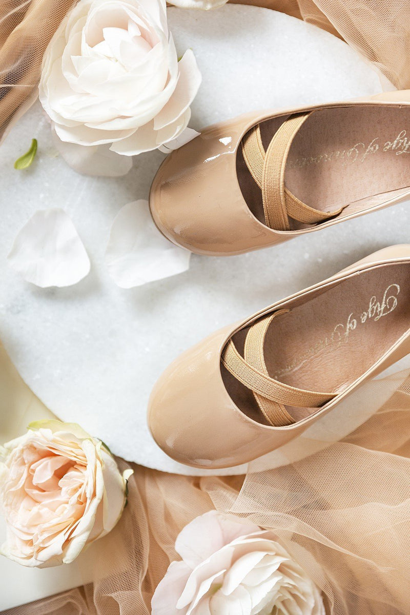 Mira Beige Shoes by Age of Innocence