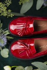 Vita Burgundy Shoes by Age of Innocence