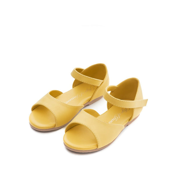 Marta Yellow Sandals by Age of Innocence