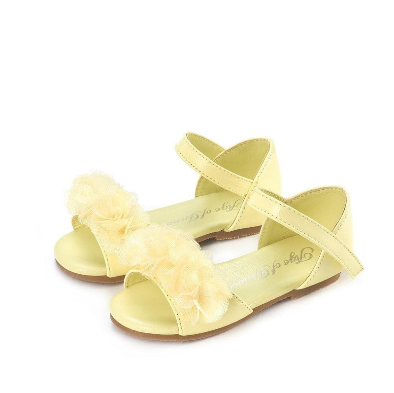 Olivia Yellow Sandals by Age of Innocence