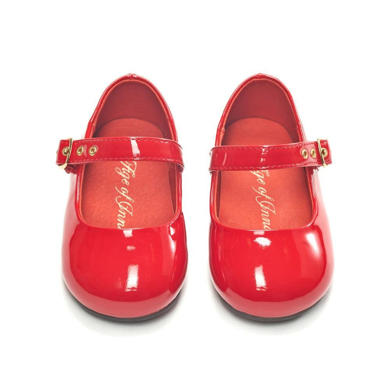 Eva PL Red Shoes by Age of Innocence