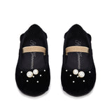 Zelda Black Shoes by Age of Innocence