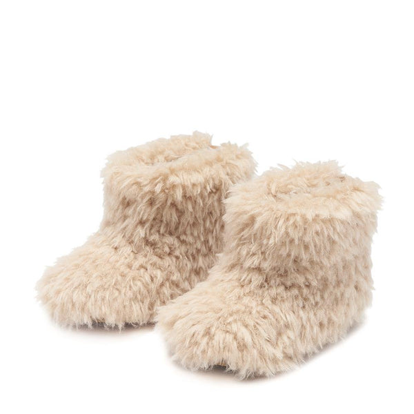 Yeti Mini Beige Boots by Age of Innocence