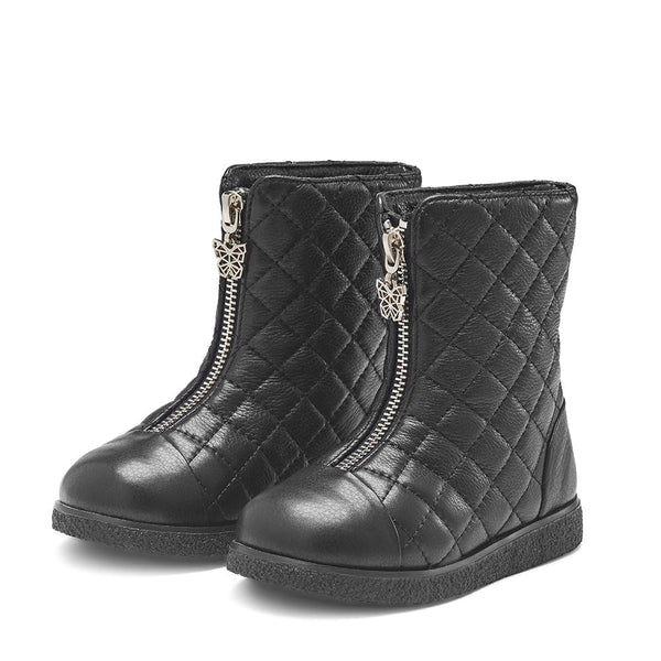 Lily 2.0 Black Boots by Age of Innocence