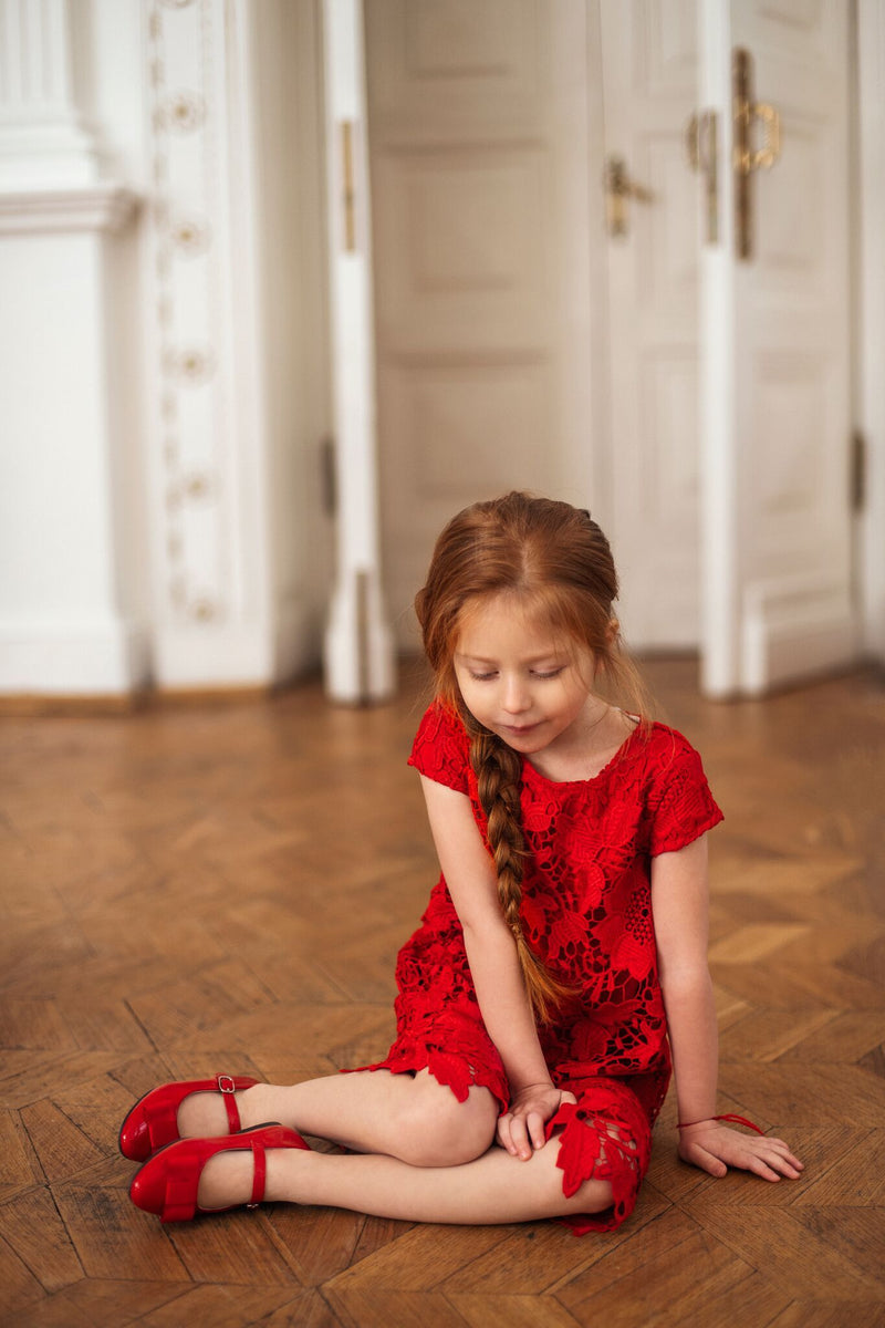 Ellen Red Shoes by Age of Innocence