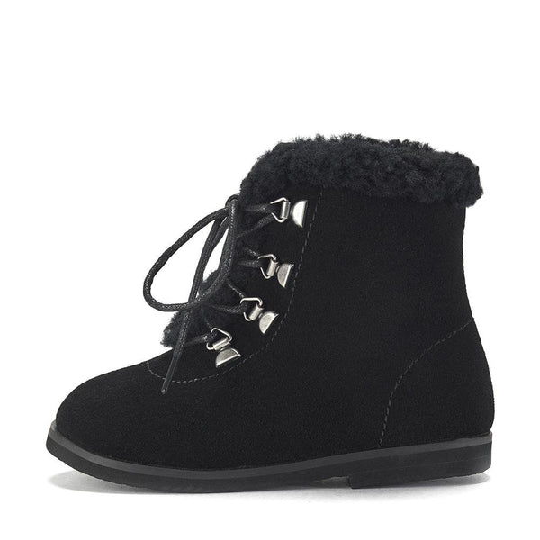 Amy Black Boots by Age of Innocence