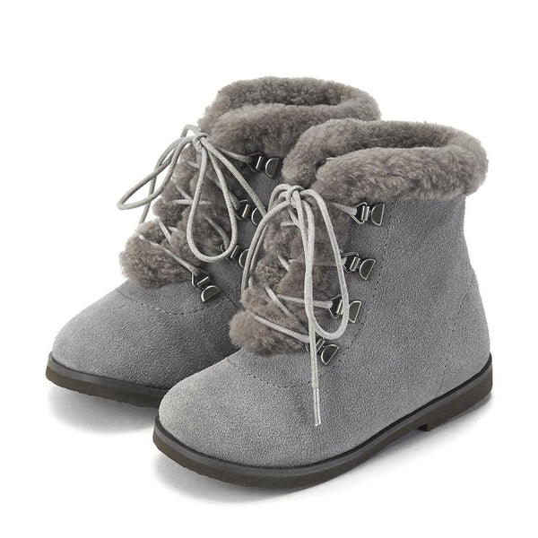 Amy Grey Boots by Age of Innocence