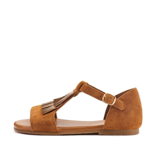 Bella Camel Sandals by Age of Innocence
