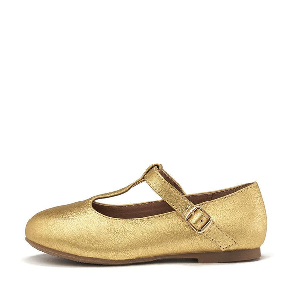 Abigail Gold Shoes by Age of Innocence